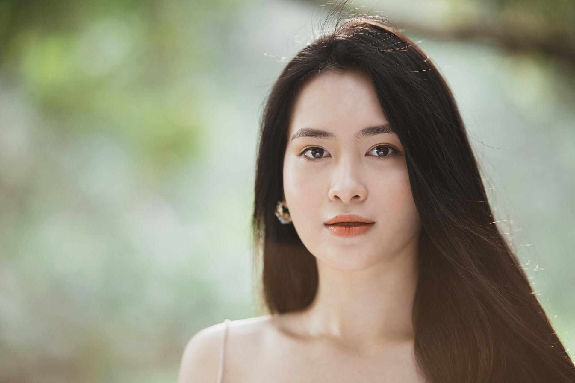 asian graceful girl