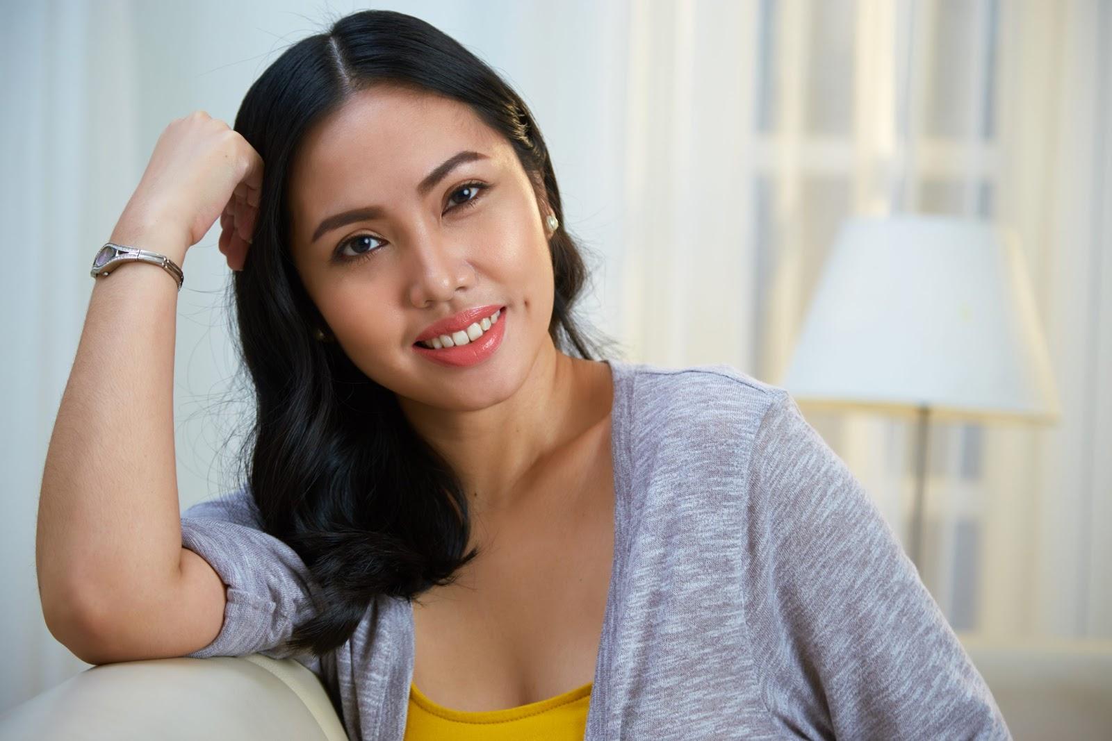 charming filipino woman