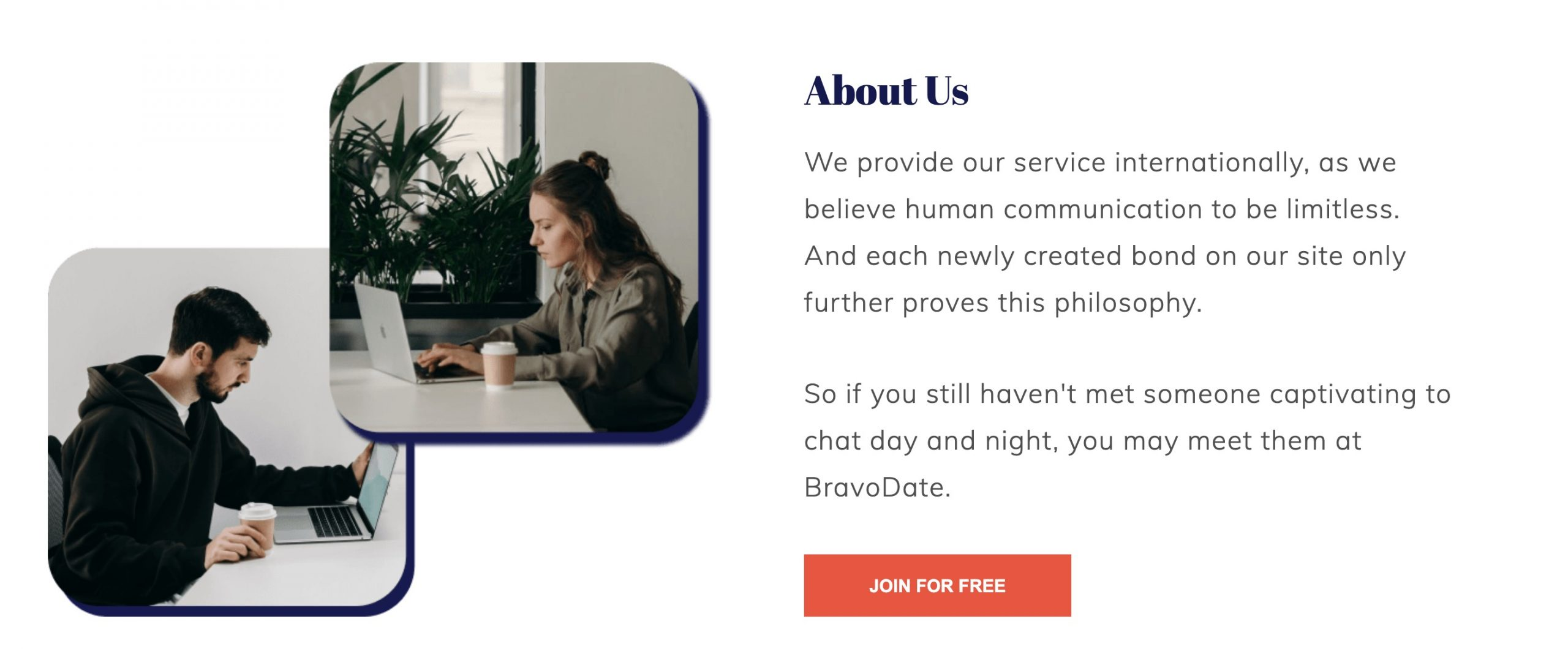BravoDate about us